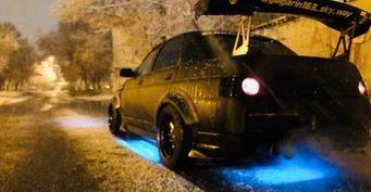 «Это было суровое время, мы колхозили, как могли»: ВАЗ-2110 «в стиле» Nissan Skyline «взорвал» сеть