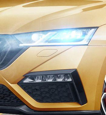 Toyota Camry иKIA K5 напрягутся: Купе Skoda Octavia RS2020 показано нарендерах