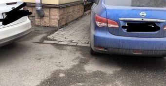 В Нальчике автохам замуровал жильцов местных многоэтажек