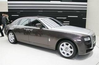Компания Rolls-Royce займется производством гибридной версии автомобиля Ghost II