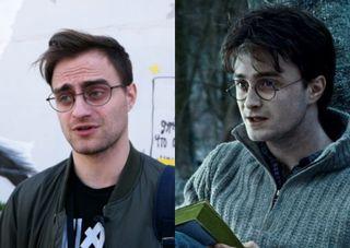 Николай Послед (слева) иРэдклифф вроли Гарри Поттера (справа). Коллаж: piter.tv, www.film.ru
