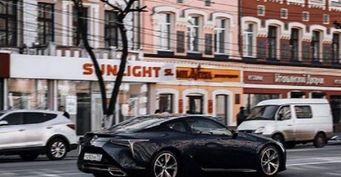 Воронежцев удивил спорткар Lexus RC F за 6,5 млн рублей