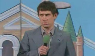 Тимур Батрутдинов на сцене КВН / Фото: Первый канал