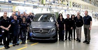 Завод Mercedes-Benz в Виктории выпустил 100-тысячный минивэн