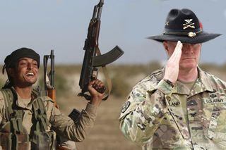 Войска США без боеприпасов: Ополченцы в Сирии прогнали запершихся в броневике американцев