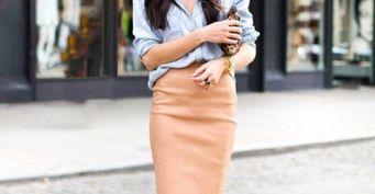 Стройнящая юбка-карандаш. С чем носить главный тренд осени-2020