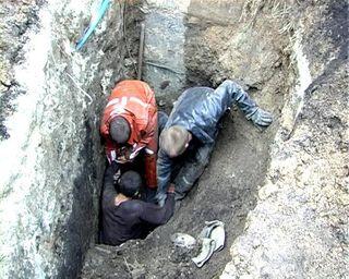 В Башкирии под обвалом земли погибли двое детей