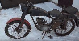 «Маленькое чудо»: Блогер показал, как выглядит мотоцикл К-55 1956 года выпуска