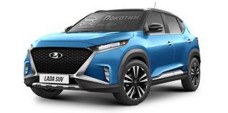 Рендер LADA Niva набазе Nissan Magnite: Pokatim.ru
