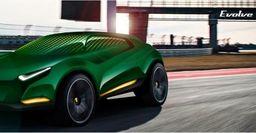 В сети представлены эскизы кроссовера марки Lotus