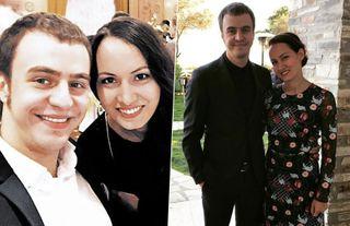 Иван Абрамов с женой Эльвирой
