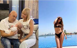 Валерия, Иосиф Пригожин с малышкой Селин и невесткой Лианой. Фото: Instagram, briz.info