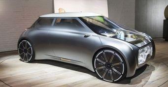 BMW представил концептуальный автомобиль-хамелеон