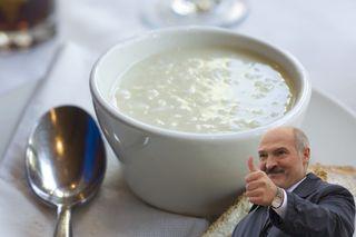 Молочный суп срисом, любимый Лукашенко   Фото: cookdiary.net