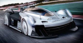 В сети показали болид Jaguar для Ле-Мана