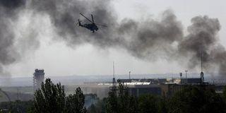 ДНР: В Донецке убиты десятки мирных жителей