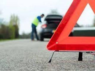 В Башкирии Hyundai Getz врезался в полицейский автомобиль