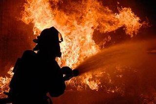 В Подмосковье на ковровом комбинате произошел пожар
