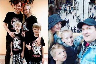 Жена исыновья юмориста Фотоколлаж: Покатим.ру/Валерия Кирсанова