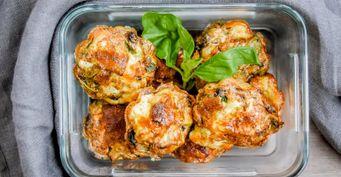 Как приготовить мясные «маффины» совощами