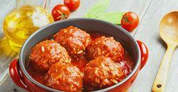 Сочные мясные тефтели из «маминой Книги рецептов»