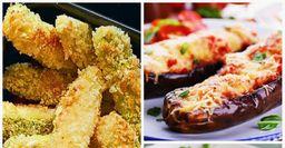 Топ-3 популярные закуски из баклажанов: палочки, лодочки, рулеты