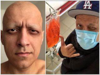 Эдуард во время лечения. Источник: Instagram@edmatsaberidze