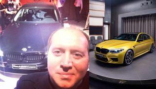 Бурунов сам намекает, какой BMW онхочет. Коллаж: портал «Покатим!»