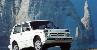 Сама элегантность: Вспоминаем редкую экспортную LADA 4x4 Niva Grand Large