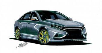 В Сети обсуждается концепт LADA Vesta Vision GT
