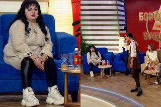 Ирина Костылева в шоу «Бородина против Бузовой». Фото: Скриншоты программы на канале ТНТ