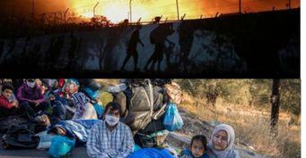 Турция наносит ответный удар Греции поджогом лагеря беженцев на Лесбосе