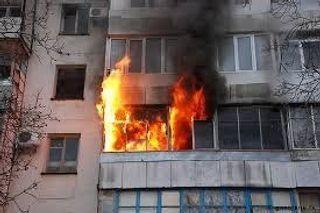 В Балашихе произошёл пожар, есть пострадавшие