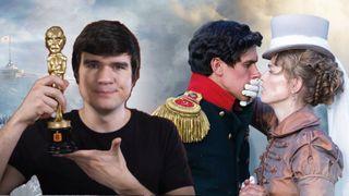 «BadComedian» и кадр из фильма «Союз спсасения». Источник: Pokatim.ru
