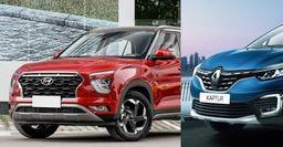 Опасный конкурент: Renault Kaptur 2020 может «убить» Hyundai Creta