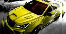 Индийские тюнеры показали доработанный Chevrolet Cruze