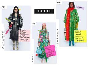 Элементы гардероба от марки Gucci Источник: @cameramoda.it Фото: автор «Покатим» Алина Морозова
