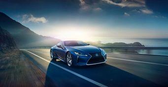Lexus LC представят в версии «заряженного» купе и в кузове кабриолет