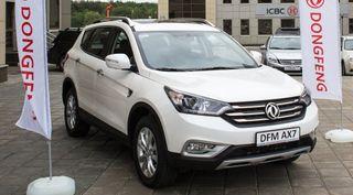 Dongfeng Motor в 2016 году привезет в Россию два новых кроссовера и седан