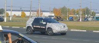 Фото: Обновленный Renault Duster, источник: «ВКонтакте»