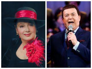 Алефтина Евдокимова и Иосиф Кобзон. Фото: eva.ru
