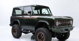Рестомод Ford Bronco 1976 года продали почти за 200 000 долларов на аукционе в США