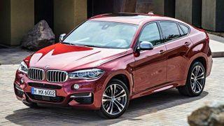 Флагманский кроссовер-купе BMW X4 M40i проходит тесты на Нюрбургринге