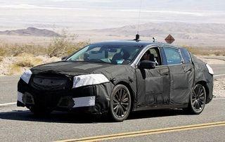 На Нью-Йоркском мотор-шоу будет представлен седан нового поколения Acura TLX 2015