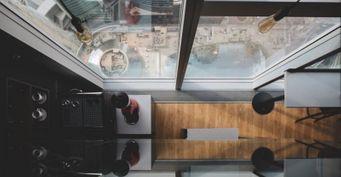 Самый высокий отель Европы SayWOW после изоляции снова открыт для посетителей