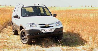 Российские продажи Chevrolet Niva в январе выросли на 40%