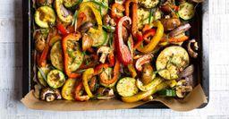 Как итальянцы запекают овощи в духовке
