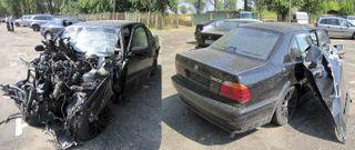 В Минске работник автомойки попал в ДТП на автомобиле начальника