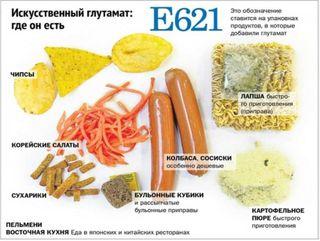 ЛДПР предлагает объявить войну глутамату натрия в продуктах питания
