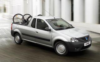 Официальное изображение пикапа Logan, источник: Dacia